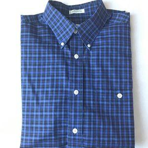 Orvis Classic Tartan Plaid Button Down Shirt